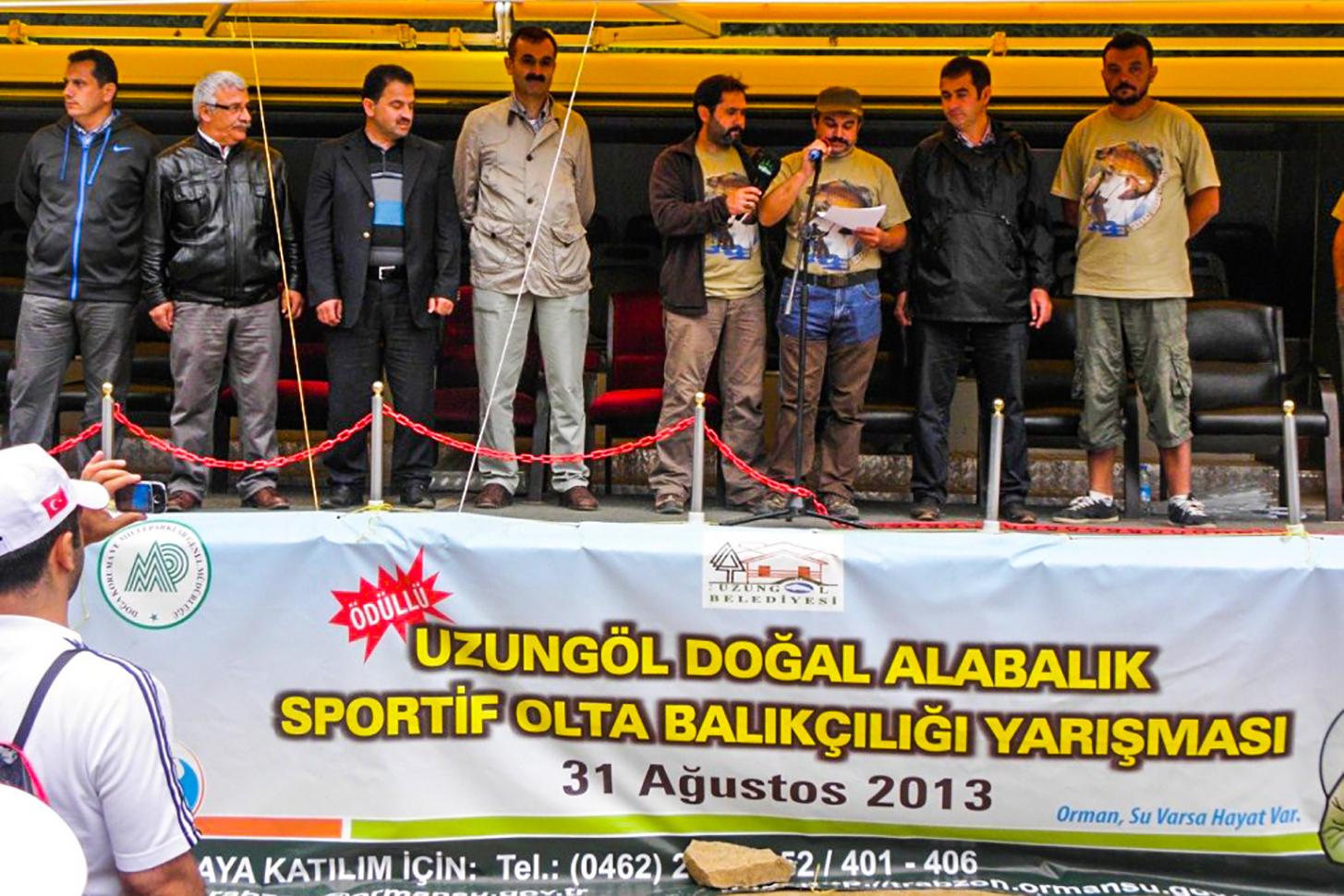Uzungöl Sportif Olta Balıkçılığı Yarışması
